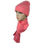 Набор Чулок шарф коралловый