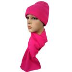 Набор Чулок шарф малиновый