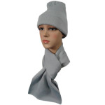 Набор Чулок шарф ссерый